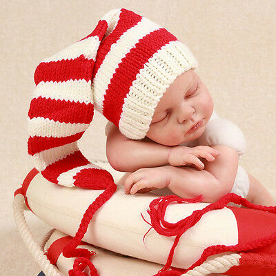 Crochet Newborn Baby Photography Girl Knit Heart Love Hat Cap Costume Photo Prop
