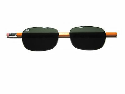 a5a7e11be31f4 Authentic Ray Ban RB3534 Solid G15 Replacement Lenses size 62 PAIR RB 3534