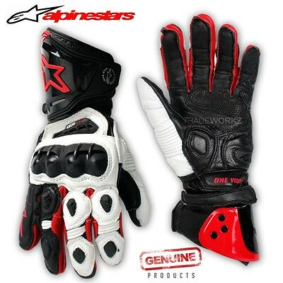 New ALPINESTARS Racing GP PRO Motocross Off Road Motorcycle Bike Gloves M L XL