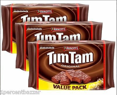 3 x Arnott's Tim Tam Original Value Pack 330g
