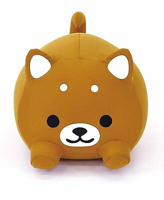 New! Cushion Pillow MOGU Doggie Brown Cute Dog F/S from Japan with tracking