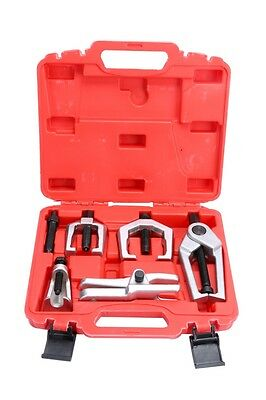 5PC Front End Ball Joint Service Tool Set Separate Pitman Arm Puller Tie Rod