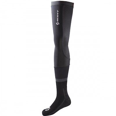 SCOTT MX Motocross Downhill Cross Enduro Socken lang black/grey