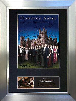 DOWNTON ABBEY Signed Autograph Mounted Reproduction Photo A4 Print 515