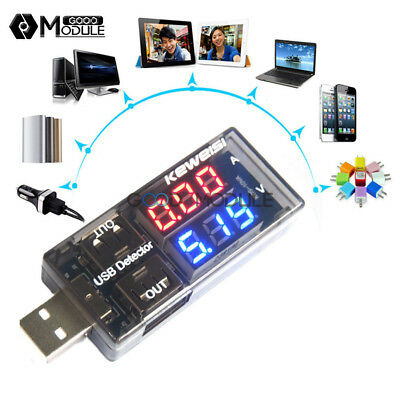 USB Charger Doctor Voltage Current Meter Mobile Battery Tester Power Detector GM