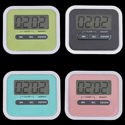 Large LCD Digital Kitchen Cooking Timer Count-Down Up Clock Loud Alarm OK