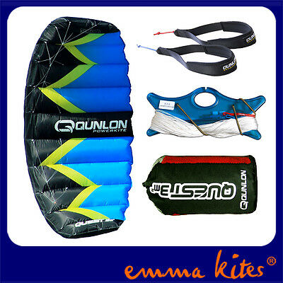 2㎡ Powerkite Dual Line Control for Trainer Kitesurfing Outdoor Traction Sports