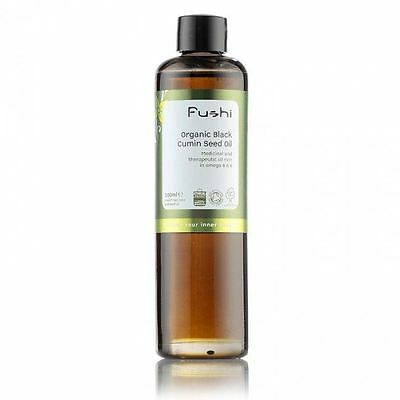 Fushi Wellbeing Black Cumin Seed Oil Organic 100ml