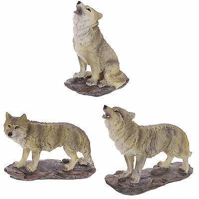 Wolf Figurine ~ Choice of Wolves ~ Wild Animal Ornaments