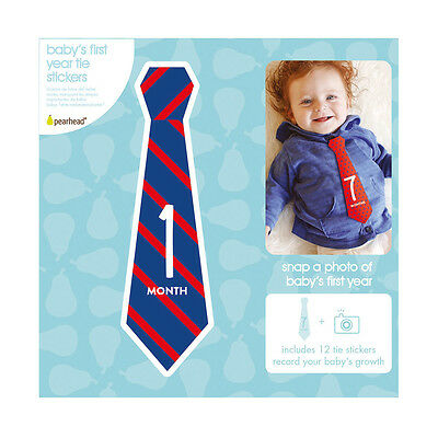 Pearhead Baby's First Year Tie Stickers
