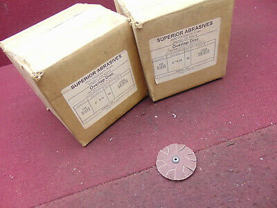 "Superior Abrasives Over Lap Disc 2"" X 8/32  80 Grit  Loc3094"