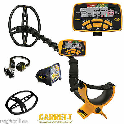 NEW Garrett Ace 400i Metal Detector with Accessories! NEW Product!