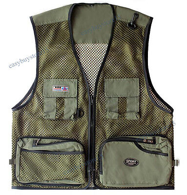 Men Hunting Trapper Creek Mesh Shooting Vest Lightweight Camo Size L-3XL Outdoor