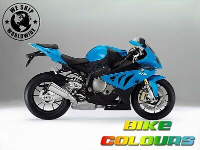 Bmw 2 Stage Touch Up Paint Kit S1000Rr 2012, R1200 Gs 2014 - 2015 Blue Fire