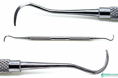Dental Periodontal Sickle Scaler H6/H7 Double Ended Stainless Steel Instruments