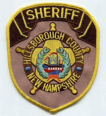 Hillsborough County New Hampshire Sheriff Patch