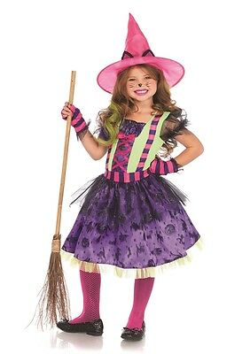 Colorful Cat Witch Child Costume, Halloween, Leg Avenue