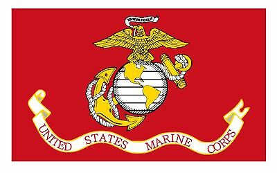 Flag of the United States Marine Corps Sticker Decal F635