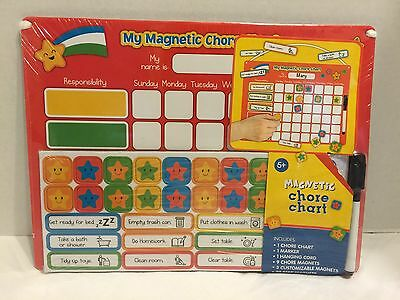 New Kids Magnetic Chore Chart Reward,Incentive,Behavior,Responsibility