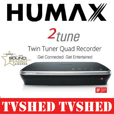 Humax HDR-3000T 2tune Twin Tuner Quad Recorder PVR