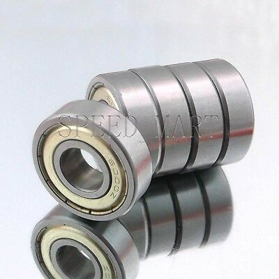 5PCS 6001ZZ Deep Groove Metal Double Shielded Ball Bearing (12mm*28mm*8mm)