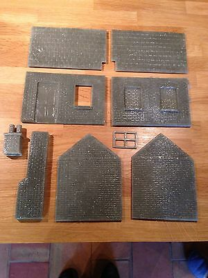Garden Railway G Gauge 1:24th Scale Line Side Bricked Up Building Kit New (KH4)