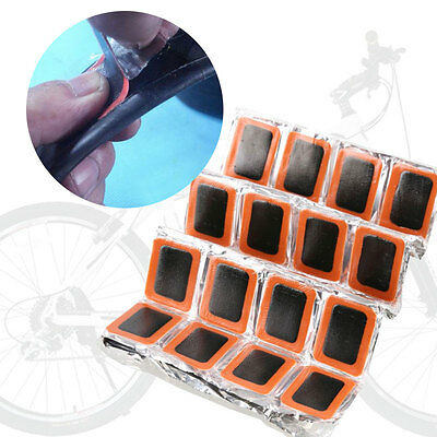 48Pcs Bicycles Cycle Tire Inner Tube Puncture Rubber Patches Repair Kit