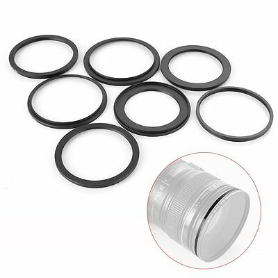 Step Up/Down Lens Filter Ring Adapter 58mm to 37 42 46 48 49 52 55 62 67 72 77mm