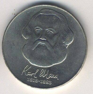German Democratic Republic 20 Mark 1983 Karl Marx