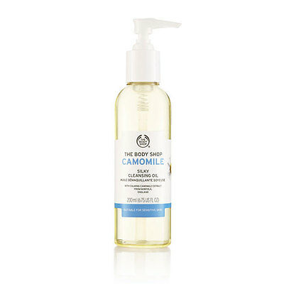 Body Shop ◈ CAMOMILE SILKY CLEANSING OIL 200ml ◈  Cleanser ◈ Removes Make Up