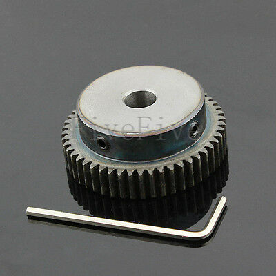 1M50T 6/8/10mm Bore Hole Width 10 Module 1 Motor Metal Spur Gear With Top Screws