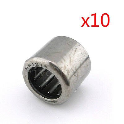 10pcs HF0812 One Way Clutch Miniature Needle Roller Bearing (8mm*12mm*12mm)