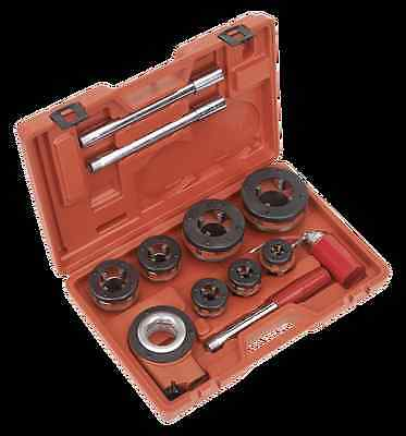 "Sealey Tools PTK992 Stainless Steel Iron Pipe Threading Kit 3/8"" - 2"" BSPT New"