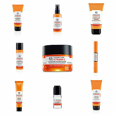 Body Shop ◈ VITAMIN C ◈ Add Zest & Radiance ◈ Revive Dull & Tired Looking Skin