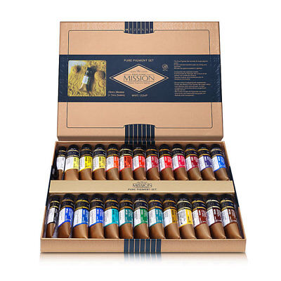 Mijello Mission Gold 26 Watercolor Pure Pigment Color SET 15ML MOST INTENSE EVER