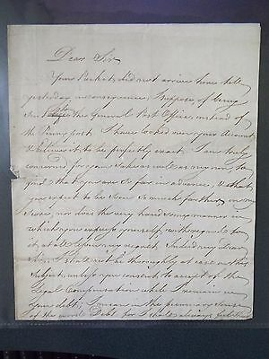 James Fordyce - 18th Century - Autograph Letter Signed