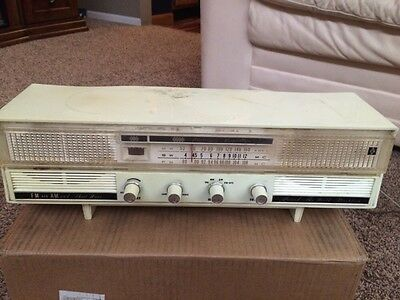 Ross Re-920 Am/fm/shortwave Table Top Tube Radio Works Great