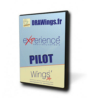 Wings' eXPerience 6 Pilot Digital Edition   Embroidery Software