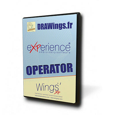 Wings' eXPerience 6 Operator Digital Edition   Embroidery Software
