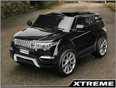 Kids / Childs 12V Black Ride on Range Rover Evoque Style Electric Car sold out