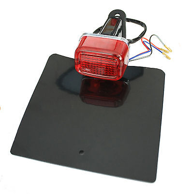 Rear Light Enduro Mx Motorbike Tail Brake Stop Light Unit With Number Plate