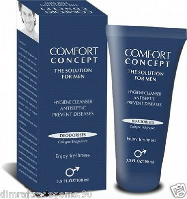 Hygiene Cleanser for Men's private parts By CC 100 ml It soothes & deodorizes