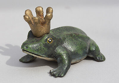 Cast Iron Prince Frog