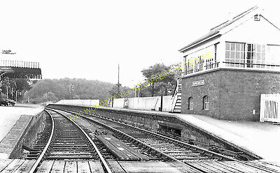 Clutton Railway Station Photo. Pensford - Hallatrow. Bristol to Radstock. (15)