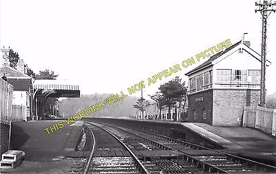 Clutton Railway Station Photo. Pensford - Hallatrow. Bristol to Radstock. (5)
