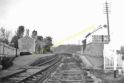 Clutton Railway Station Photo. Pensford - Hallatrow. Bristol to Radstock. (9)