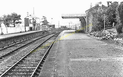Clutton Railway Station Photo. Pensford - Hallatrow. Bristol to Radstock. (13)