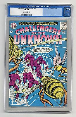 Challengers of the Unknown #40 VF CGC 8.0