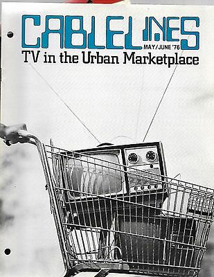CABLELINES Magazine May 1976 TV in the Urban Marketplace