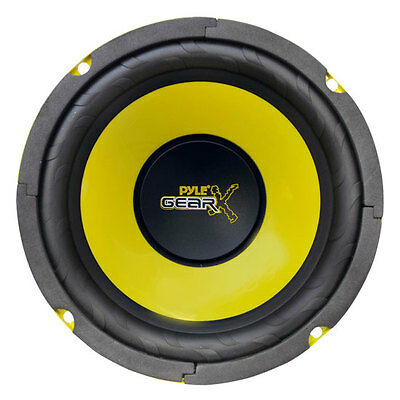 """Single 6.5"""" inch 6 1/2"""" Performance Car Audio Mid Bass Woofer HQ Stereo Speaker"""